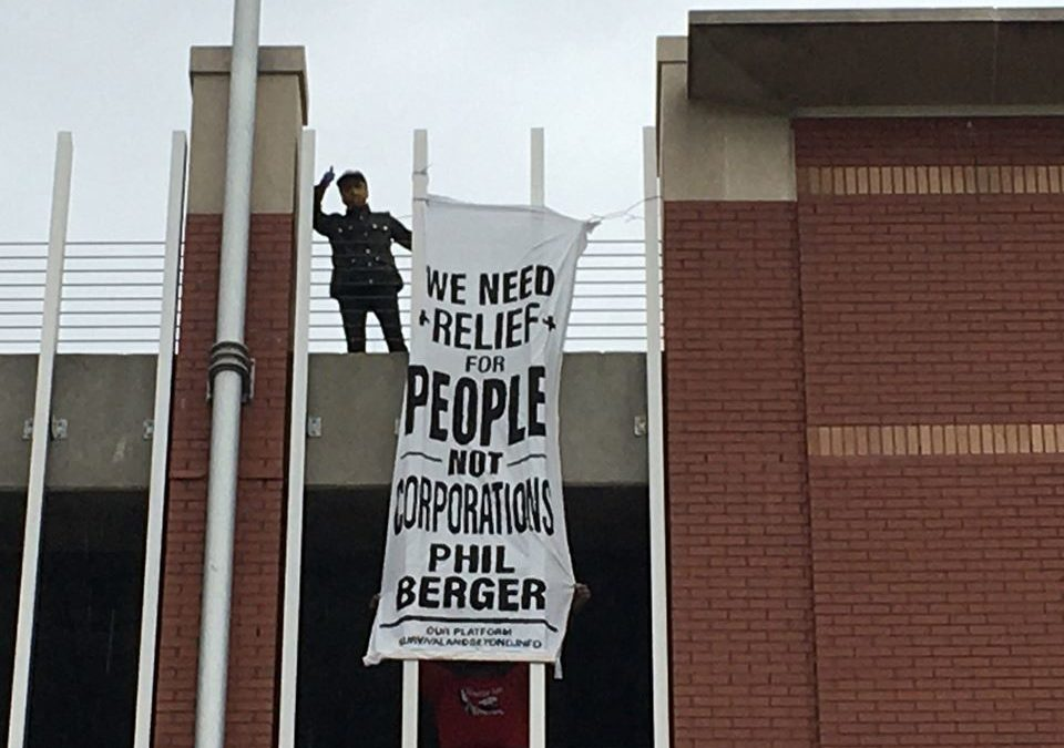 NC United for Survival and Beyond Drops Banners Across the State