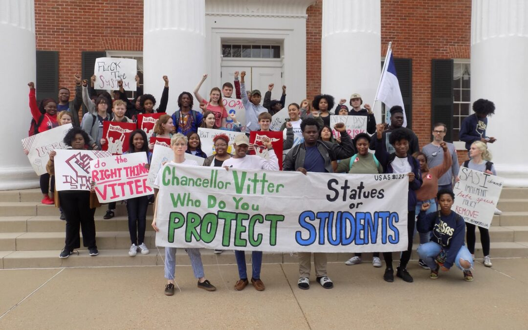 """""""A rallying point for Confederate agitators"""": Students' fight to topple racism at the University of Mississippi"""