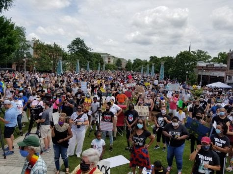 Protest in Decatur Square on June 7