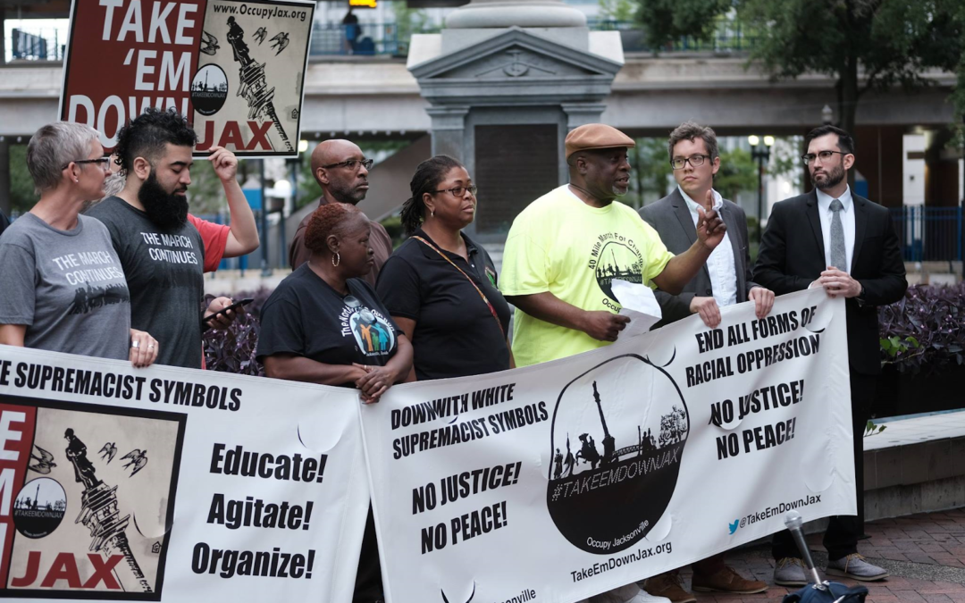 """""""Light in the darkness of racial hatred"""": Jacksonville topples Confederate bigotry"""